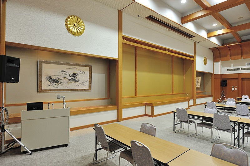 比叡山 延暦寺会館 宿坊 大ホール (2スパン) (比叡) の写真