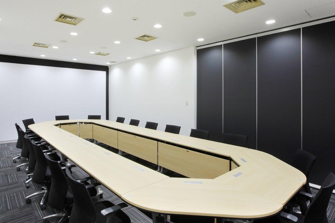 飲食持ち込み可能!Wi-Fi完備! 会議室Bタイプ(45㎡)/ 人形町 日本橋 会議室 の写真