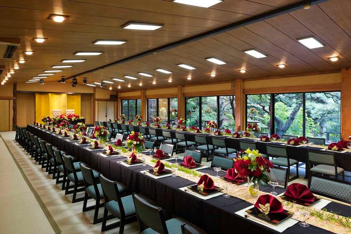 撮影限定 一万坪の庭園を一望できる大広間で本格撮影 竹河 の写真