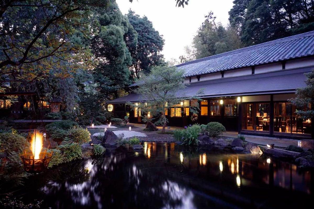 撮影限定 約300年もの歴史と趣ある和モダンな祝宴会場 源氏館 の写真