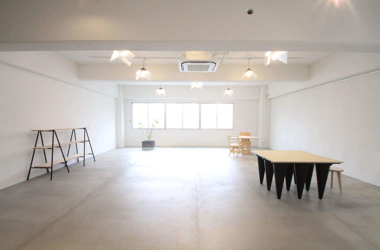 【品川】倉庫ビル内にあるクリエイティブスペース