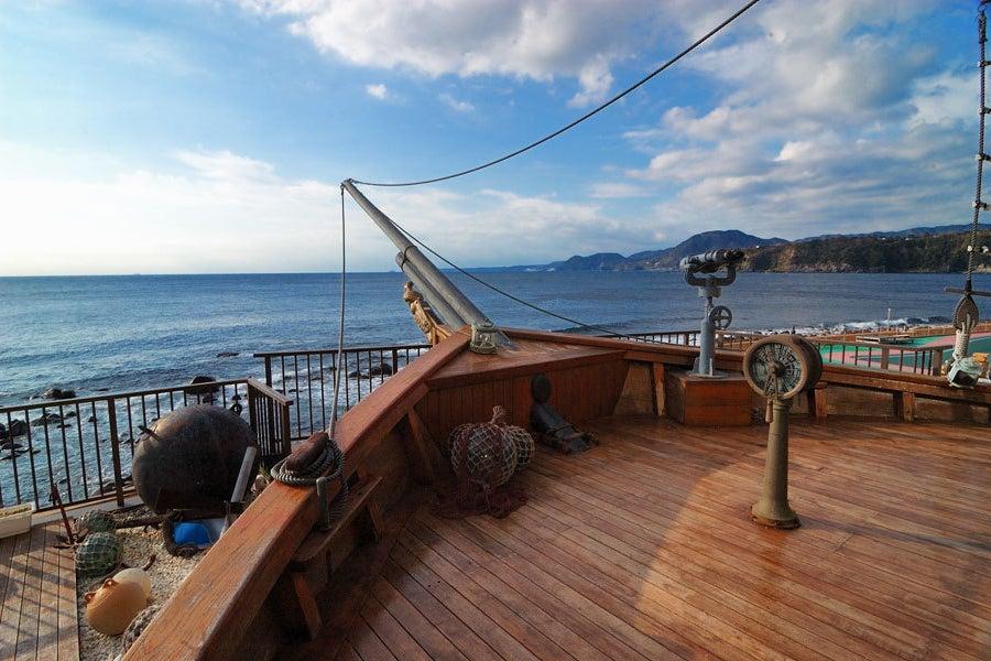 太平洋を一望 眺望絶景のロビーテラスで撮影、イベントはいかが? の写真