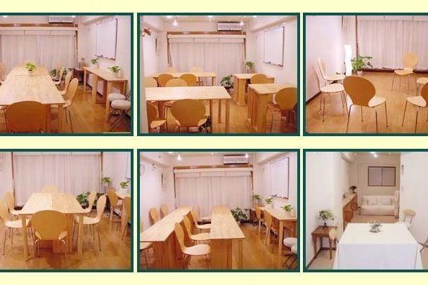 {スペースコナ銀座2階}リニューアルopne⭐️室内は自然素材の珪藻土。教室、セミナー、会議、演奏などに! の写真