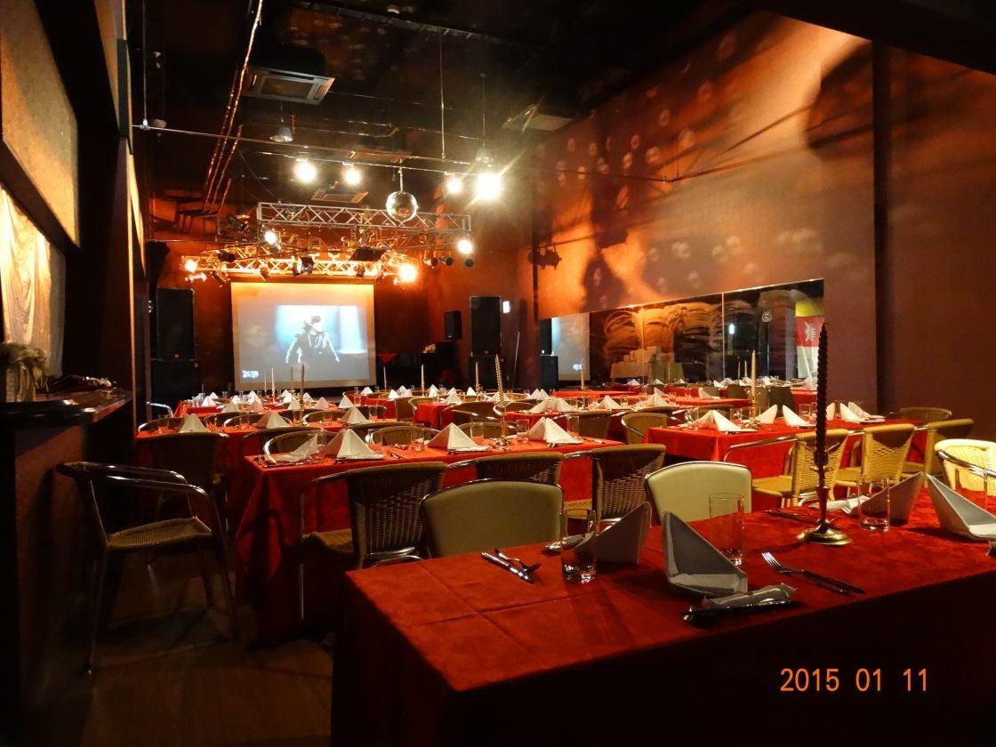 400人収容可能なエンターテイメントホール 結婚式2次会やパーティー、イベントに / 兵庫県姫路市 ホール イベント(CLUB LEAF(クラブリーフ)) の写真0
