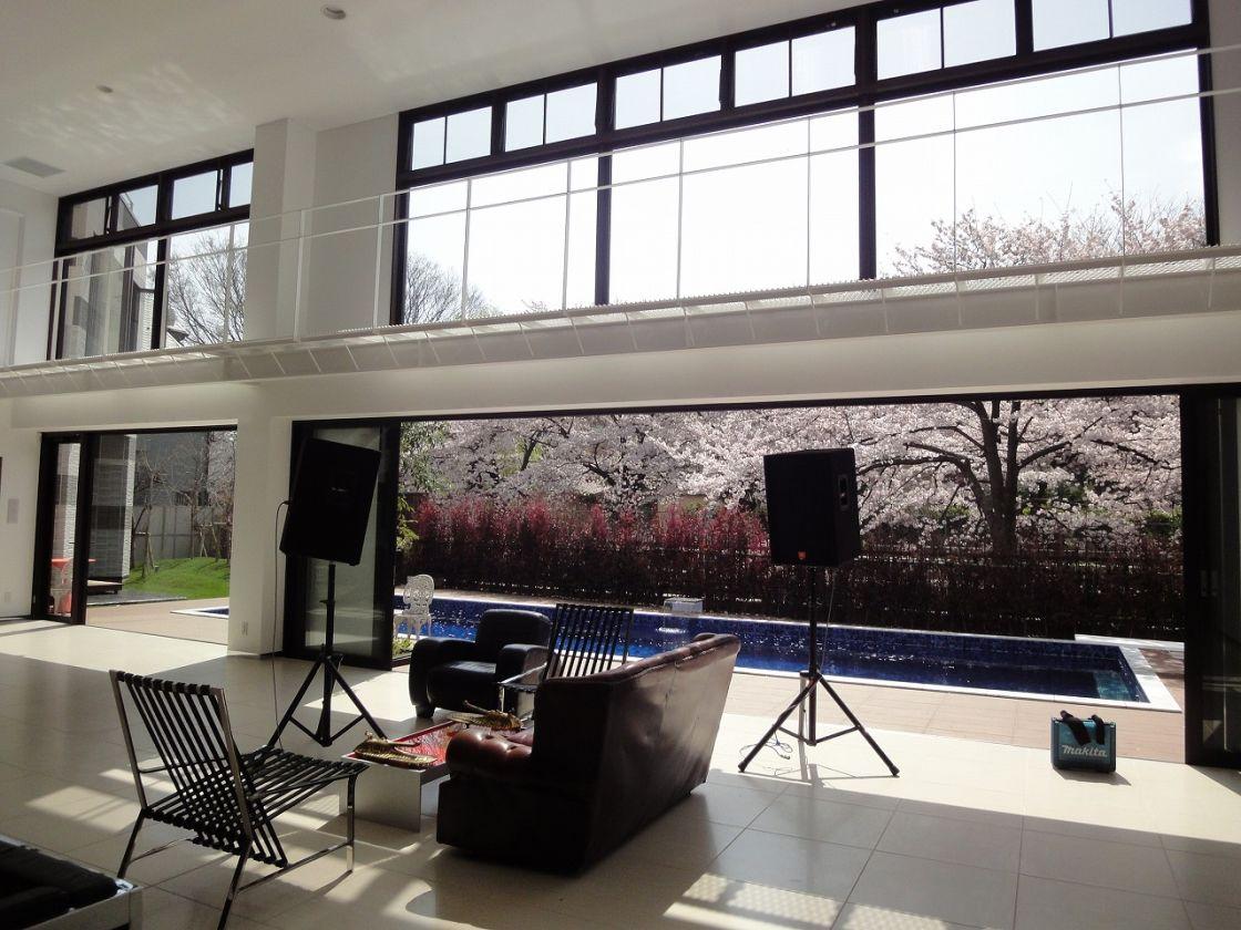 プール付き杉並区の邸宅 法人利用限定 会議や撮影での利用可 のサムネイル