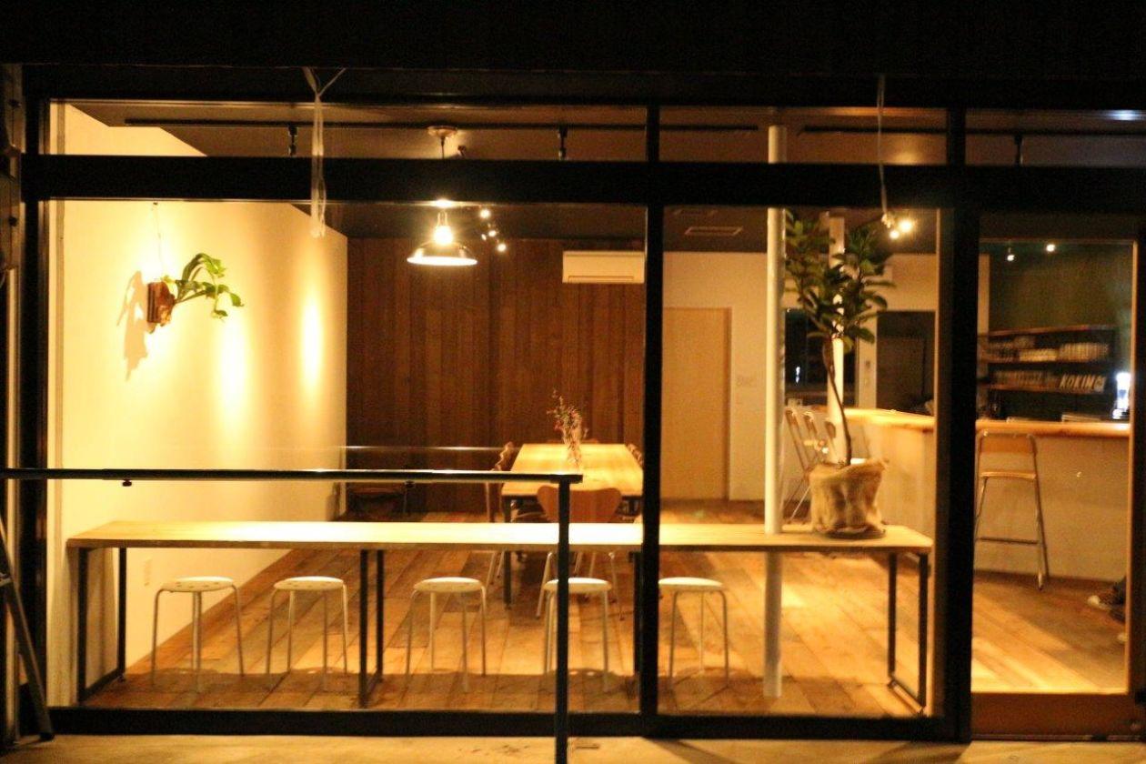 京都 西舞鶴 営業許可済みのレンタルカフェスペース/1日店長・料理教室・イベント・ワークショップ・個展に人気(cafe&bar FLAT+) の写真0