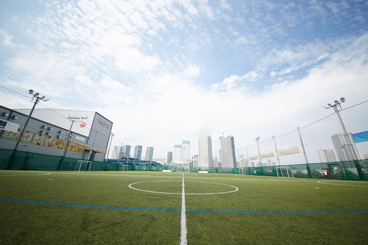 スポーツイベントからライブまで 広々フットサルコートで本格野外イベントしませんか?(MIFA Football Park) の写真0
