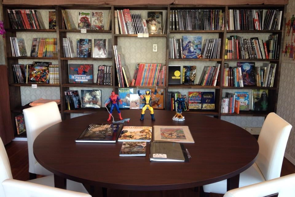 海外コミックスカフェACBD の写真