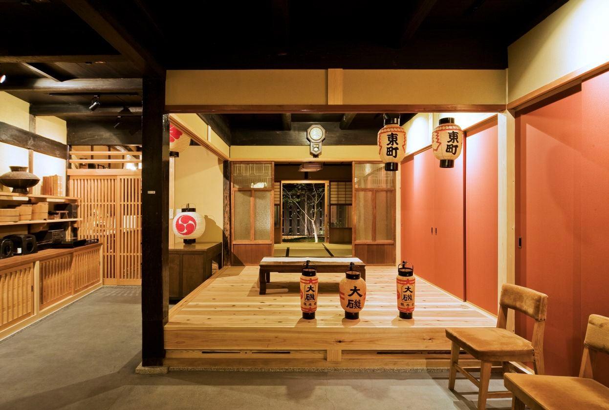 古き良き日本の情緒を感じることが出来る古民家を借りれます