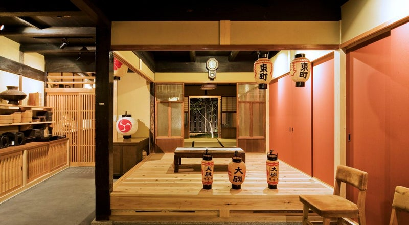 倉敷・美観地区・本町通。古き良き日本情緒の古民家を借りれます。