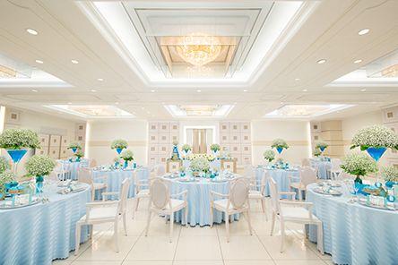 大塚 白を基調としたおしゃれなパーティースペース ホテルベルクラシック東京 ラブソディ の写真
