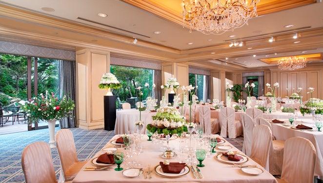 1F/Maple Room/自然環境に恵まれた贅沢なくつろぎの空間(ホテル椿山荘東京) の写真0