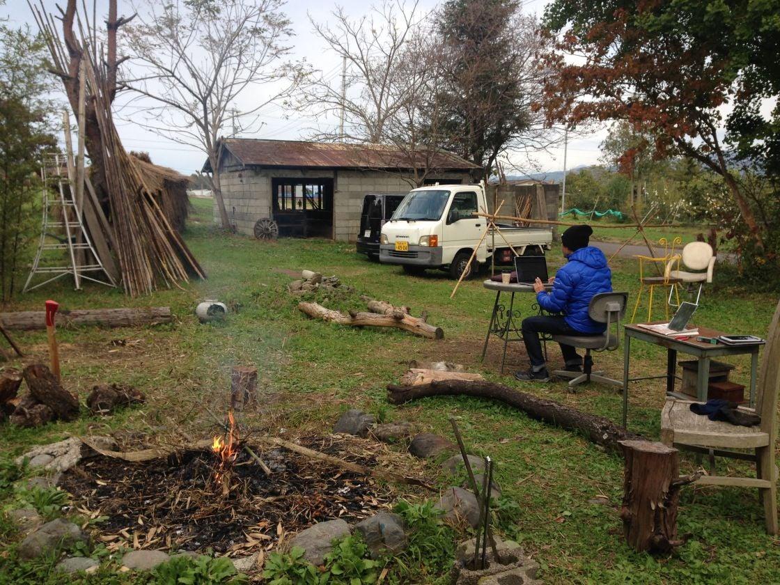 【長野南信地区】大自然の中の広々とした空間で遊ぶ、農村イベントスペース「農村JACK」 の写真