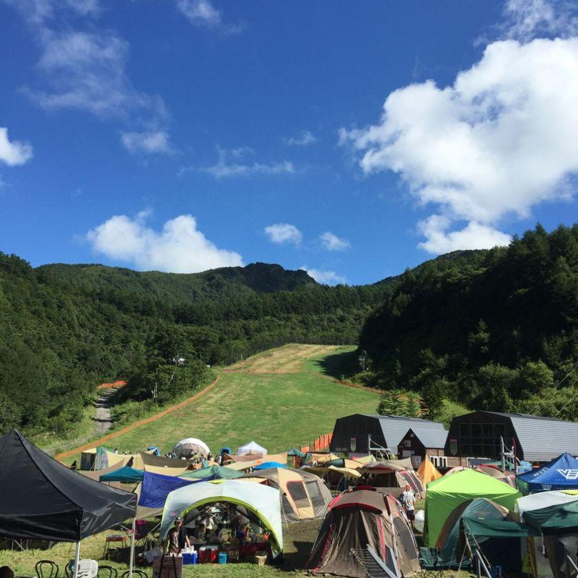 【グリーンシーズン】夏の川場スキー場 大自然を貸し切ってキャンプやフェスなどが開催できます *2017年7月以降の先行予約!