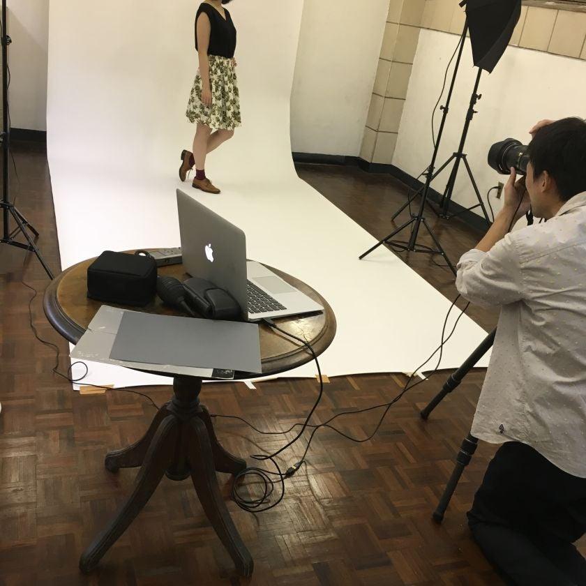 写真撮影の機材もご準備がございます。