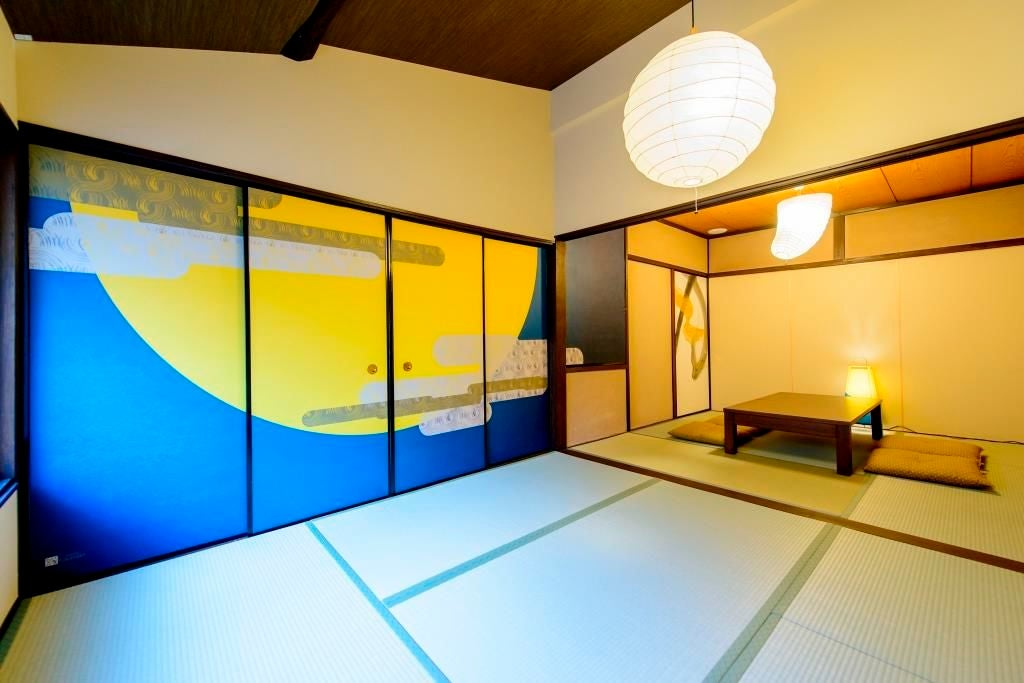 京町やinn 洛央庵 2階9畳和室(15人収容)