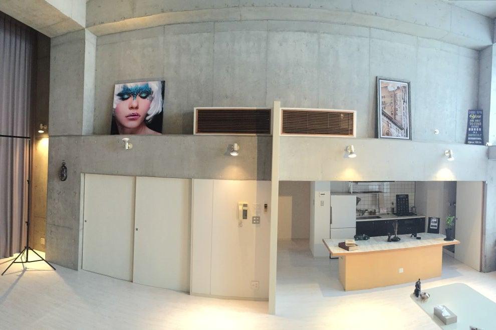【芝浦ふ頭】天井高5m‼ ニューヨークのアートギャラリー風キッチン付き万能スタジオ の写真