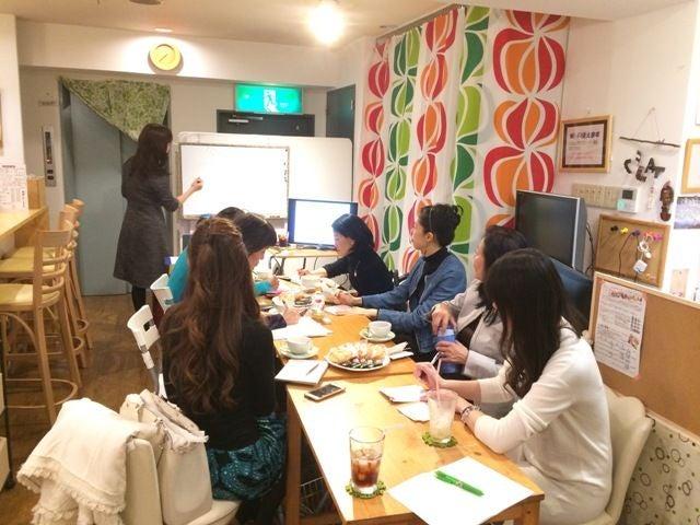 大阪の中心にあるキッチン付きレンタルカフェ。ちょっとしたお茶会やパーティに。(フリースペース C Flat) の写真0