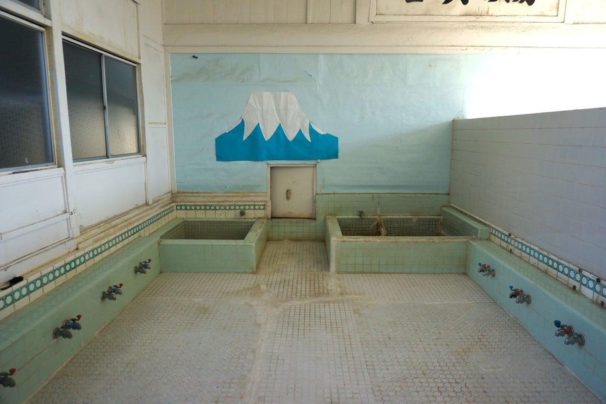 結城市内の古銭湯「喜與の湯」 の写真