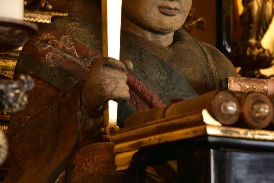 上京区西陣エリア、人々が憩うお寺・日蓮宗本昌寺 の写真
