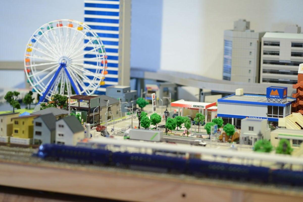 鉄道模型Nゲージのあるパーティースペース。鉄道カフェ ナイン の写真
