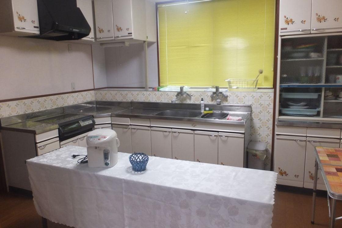 パーティーにぴったり!キッチン付き3DKのレンタルハウスです! の写真