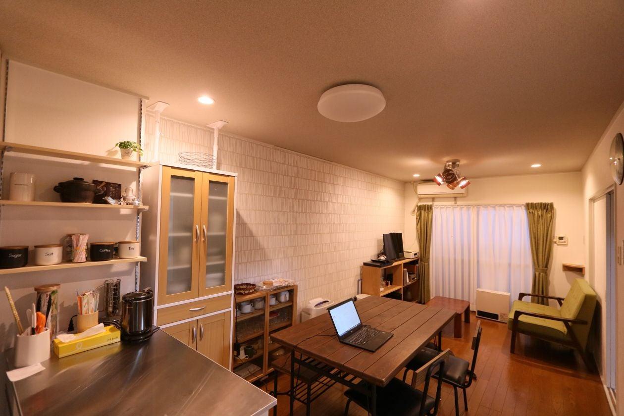 堀江レンタルルーム604 「西長堀駅徒歩2分、1階がスーパーマーケット、調理器具が多数」(西長堀レンタルルーム604) の写真0