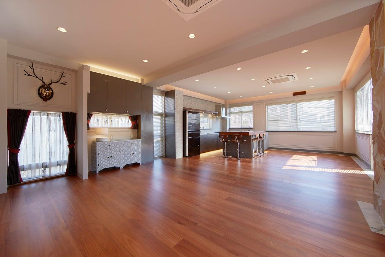 元麻布の一軒家 3F キッチン・リビング(元麻布の一軒家 Azabu House One) の写真0