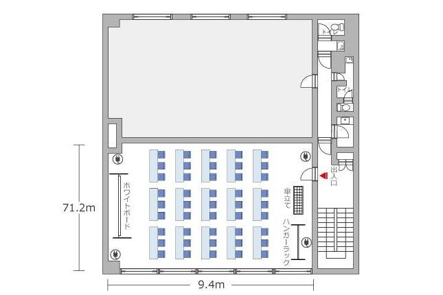 【新橋駅徒歩5分】新橋レンガ通りホール / 新橋 会議室 の写真