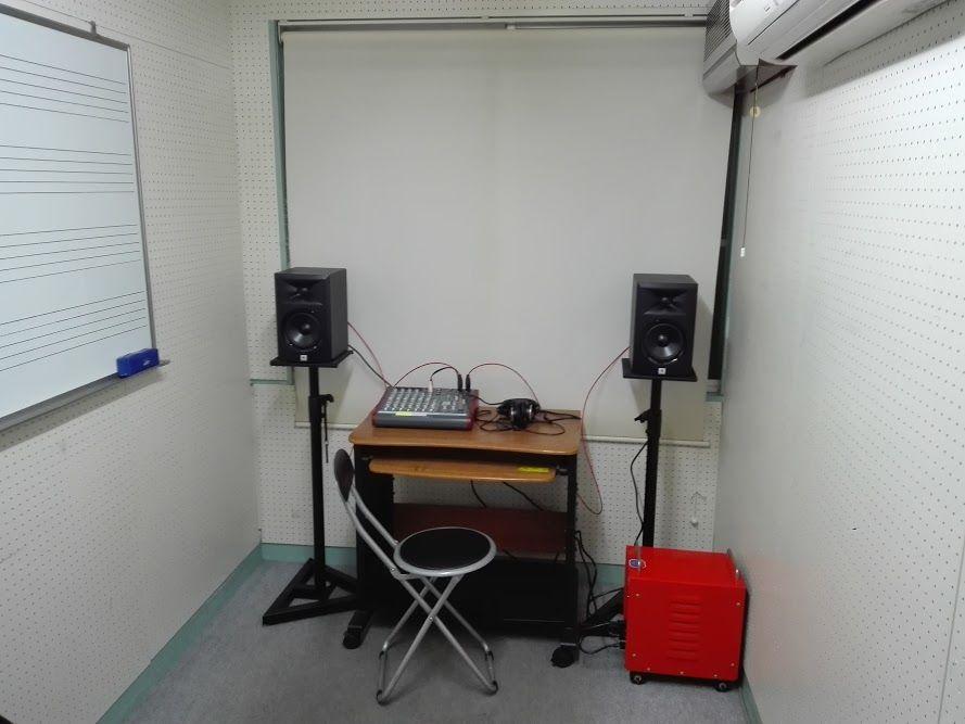 西武池袋線「東長崎」駅徒歩1分 防音ルーム(Room1) 楽器演奏、打ち合わせが可能 池袋 演奏 防音