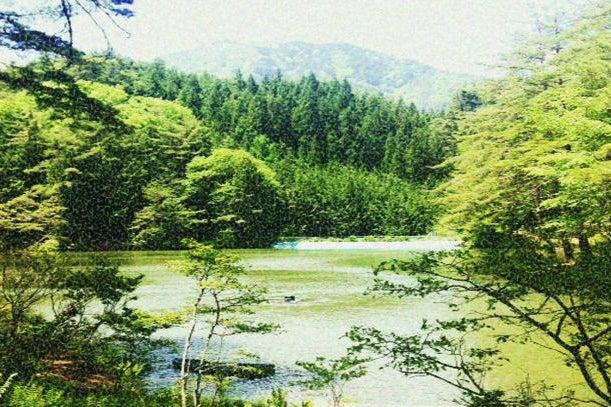 おおぐて湖畔 の写真