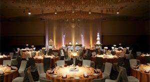 643㎡の大宴会場 「グランドホール北」各種セミナー、講演会、パーティーに最適な規模です