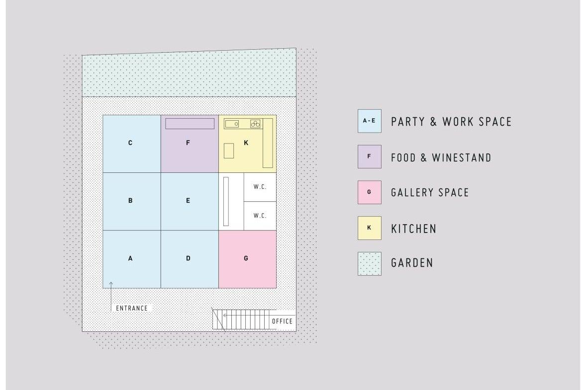 【Party & Work】様々な用途に活用できる 五感にこだわった空間(貸切) の写真