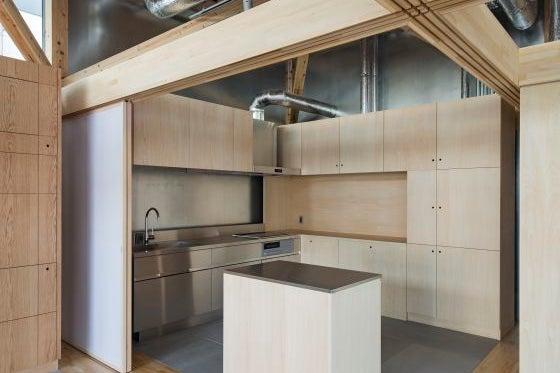 【Kitchen & Event】多目的に使えるキッチン付きウッドデザイン空間(キッチン+2コマ利用) の写真