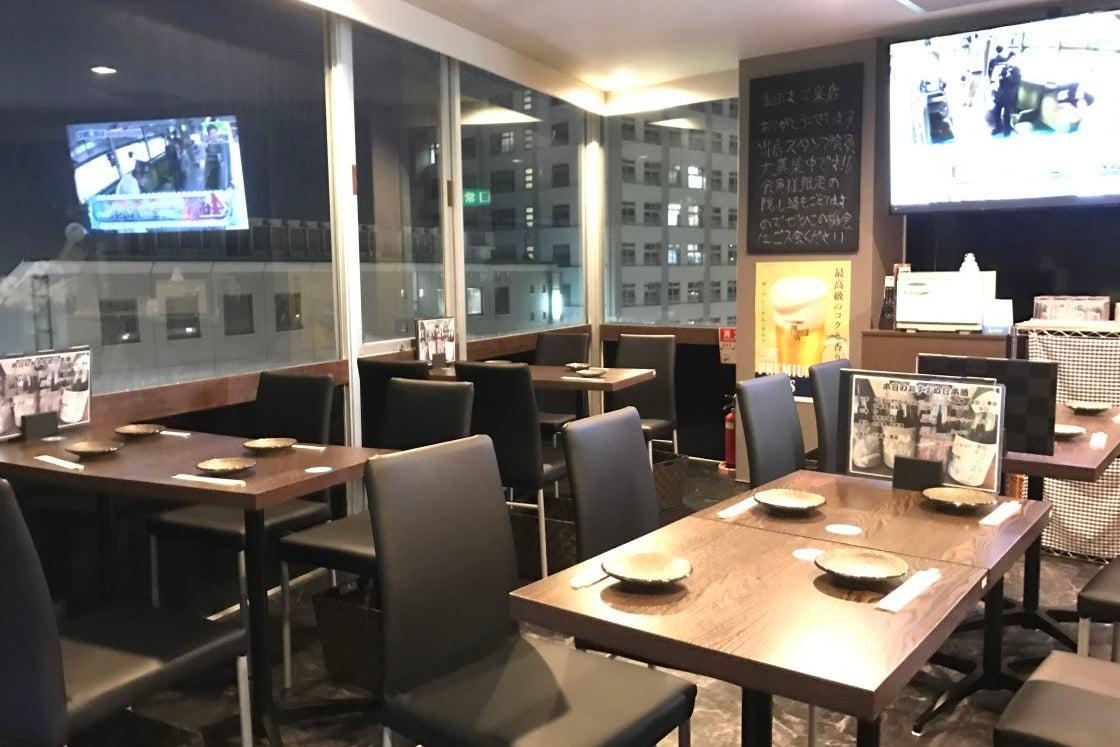 【荻窪駅北口徒歩2分】最大25名収容できる日本酒バーのスペースです。ご利用中は原価価格で飲食も出来て大変お得です。 の写真