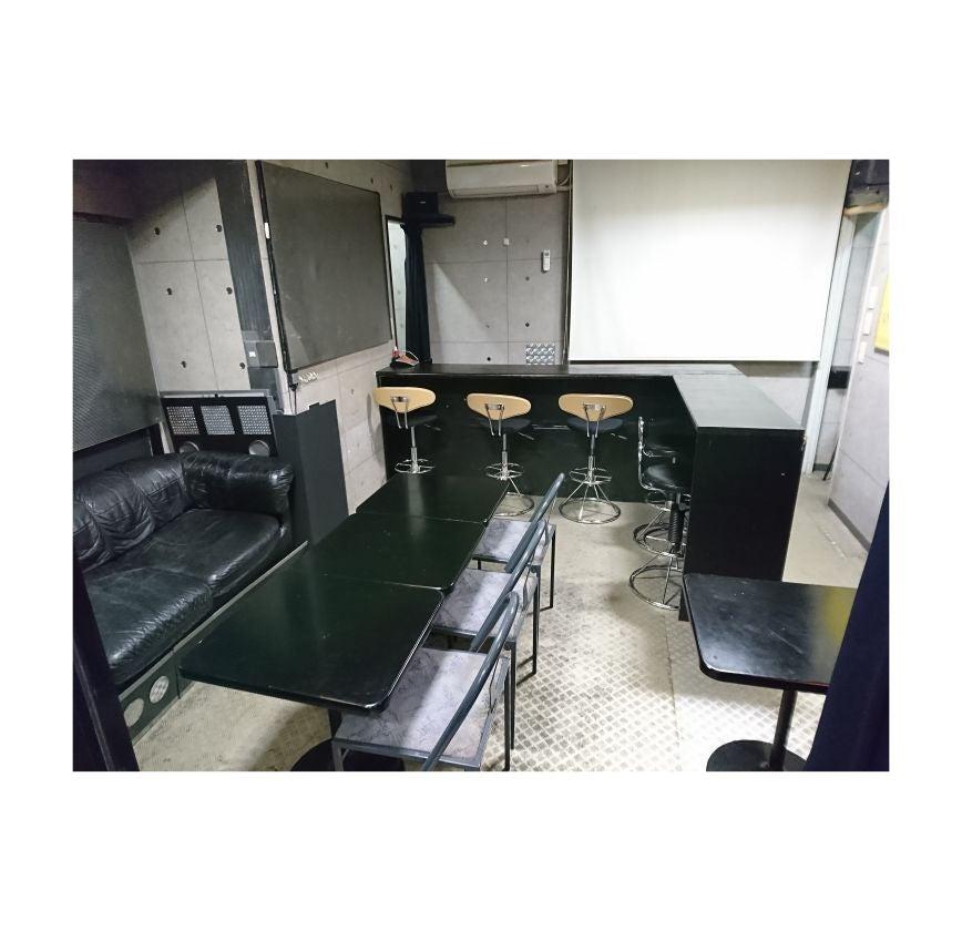 中野駅8分 プロジェクタ キッチン wifi 24H ★ルナベース