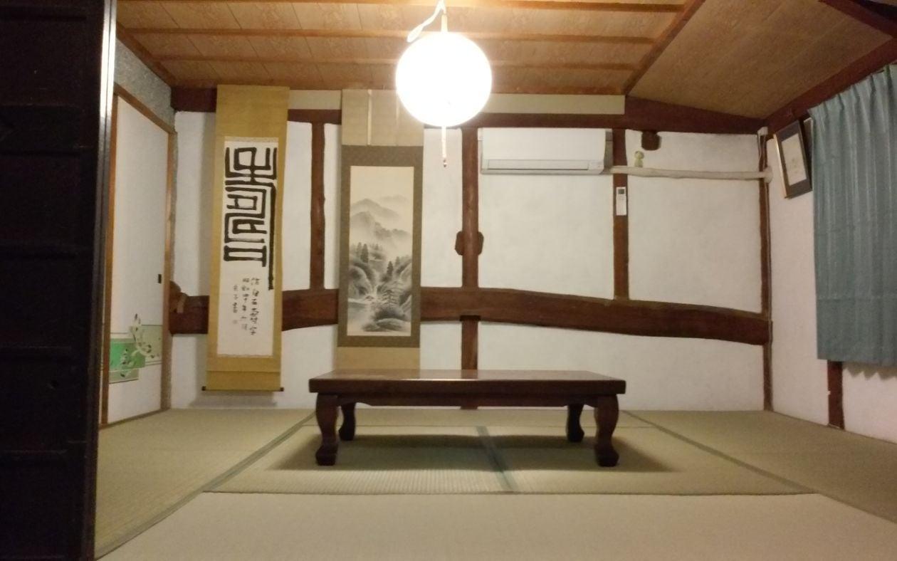 ~12人まで利用可。植木町、歴史ある田原坂公園近くの古民家 の写真