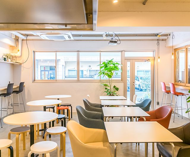 【渋谷・表参道】キッチン付き!飲食持ち込みOK/Good Morning Lounge/東京 イベント パーティー セミナー の写真
