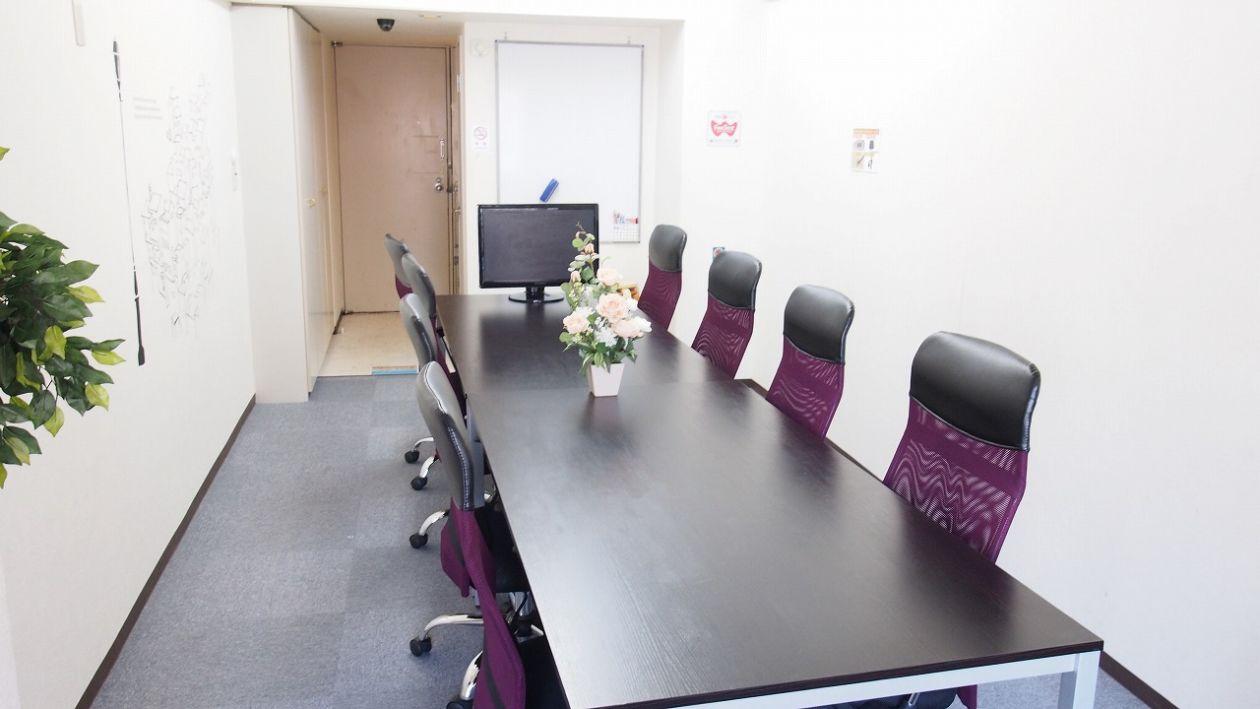 【カサレス】新宿駅・代々木駅5分 会議・ミーティングに最適な清潔 貸し会議室C の写真
