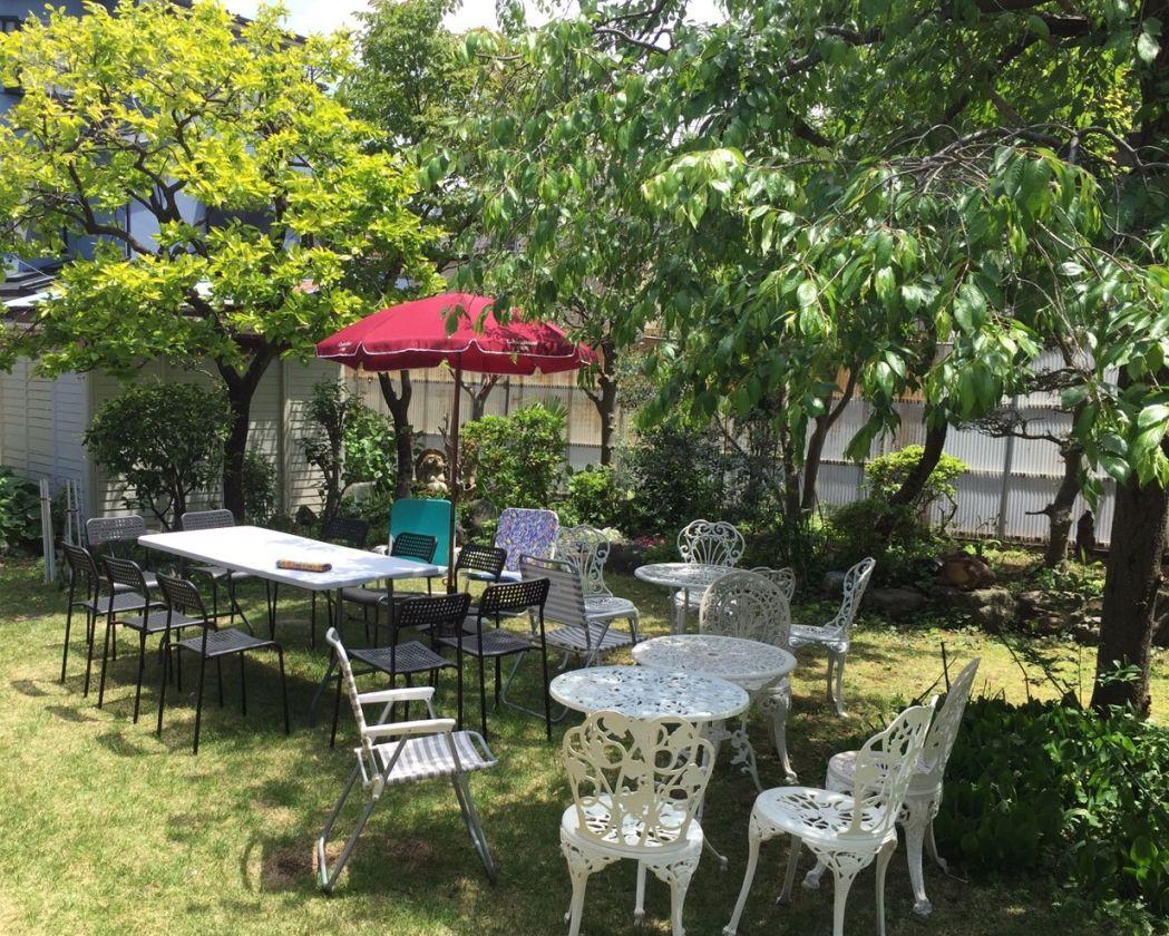 一軒家の広々とした庭でバーベキューやイベントに ハウススタジオとして好評!(OPでキッチン使用可)(咲くらるーむ 横浜) の写真0