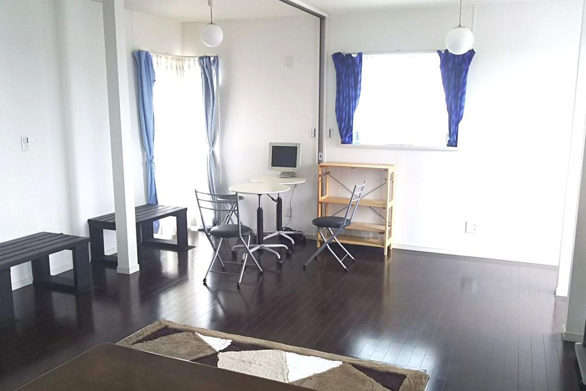 白く広い部屋ベランダ付 ミニキッチンオプション 2F 多予約優遇 の写真