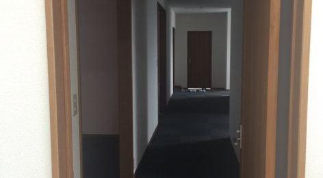 宇部市3階建事務所倉庫駐車場