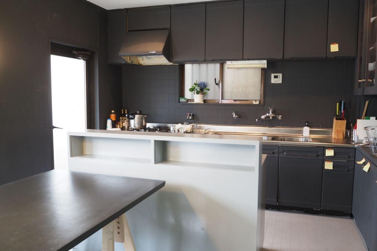 オープン型のキッチン