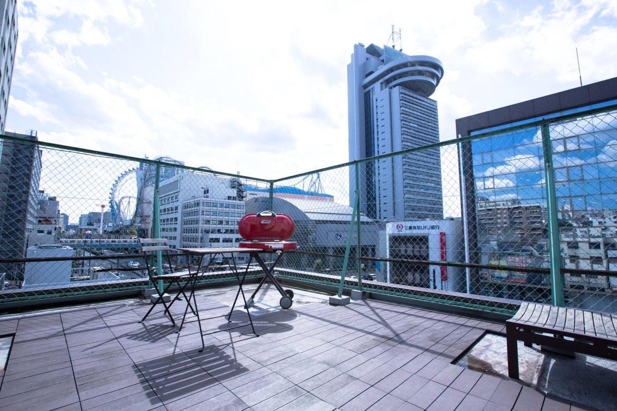 【水道橋/後楽園】街が見渡せる屋上のパーティースペース 屋上BBQなどにおすすめ