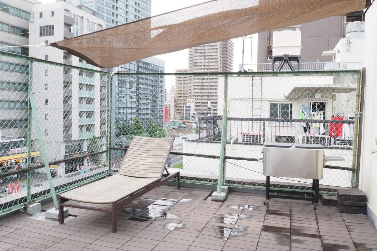 【水道橋/後楽園】屋上BBQなどにおすすめ。街が見渡せる屋上のパーティースペース の写真