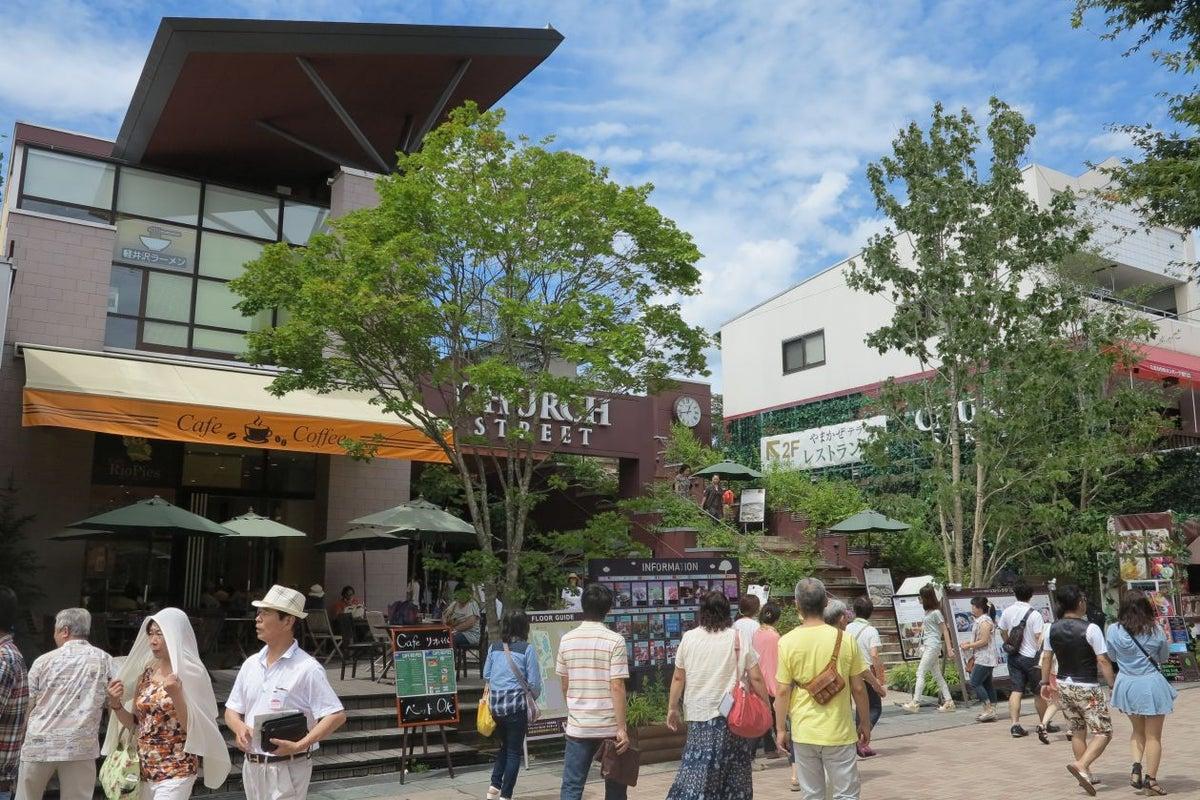 チャーチストリート軽井沢 銀座デッキ の写真