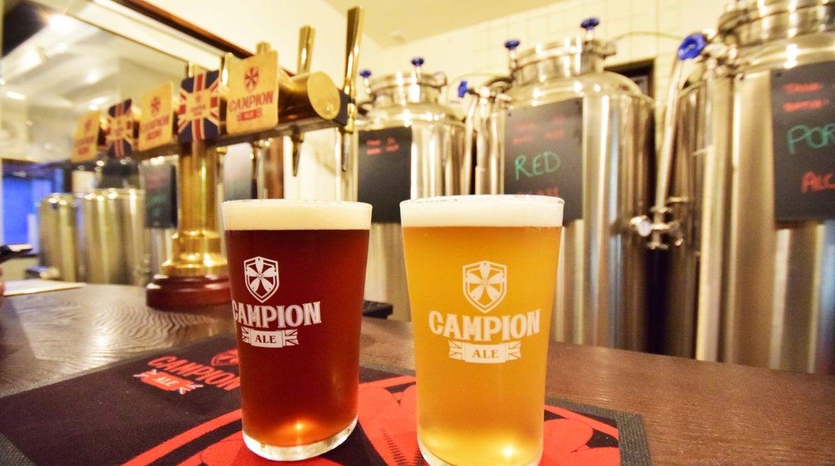 craft beer british pub カンピオンエール 浅草 スペースマーケット