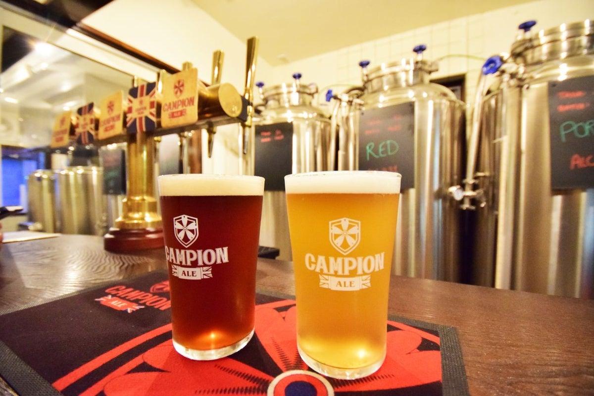 CRAFT Beer & British Pub カンピオンエール 浅草 の写真