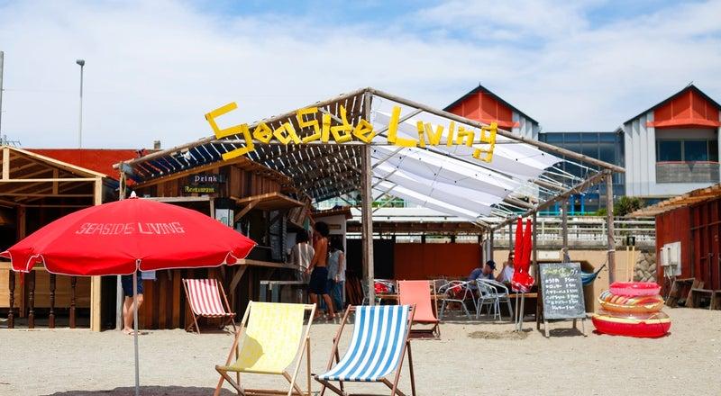 【逗子海岸 海の家 シーサイドリビング】ビーチウェディング・結婚パーティー・各種パーティー・BBQ・撮影・イベントに!