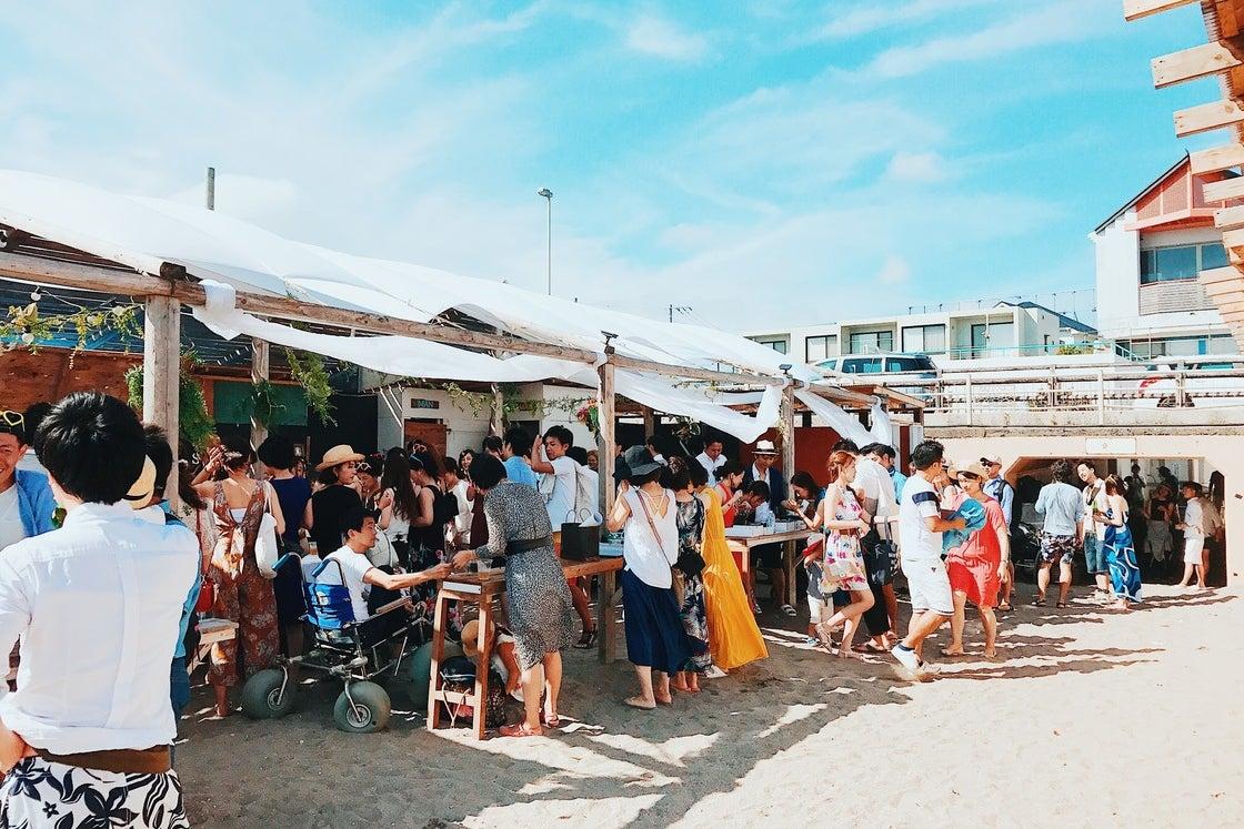 【逗子海岸 海の家 シーサイドリビング】ビーチウェディング・結婚パーティー・各種パーティー・BBQ・撮影・イベントに! の写真